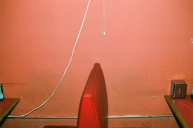 Lorena Lohr - untitled (red leather booth)