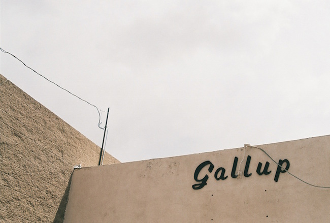 lorena lohr - untitled (gallup sign)