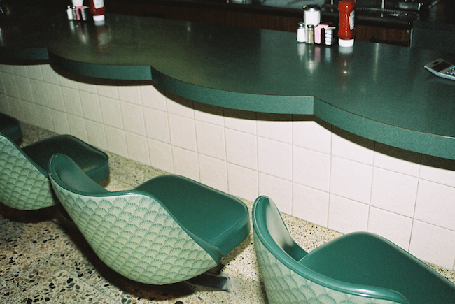 lorena lohr - untitled (green diner)