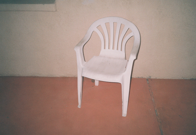 lorena lohr - untitled (plastic chair)